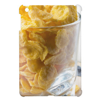 Corn flakes and glass of milk iPad mini case