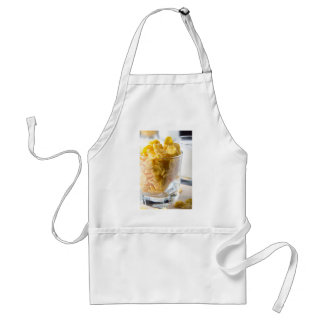 Corn flakes and glass of milk standard apron