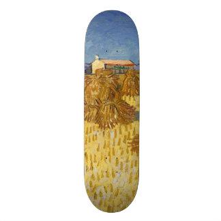 Corn Harvest in Provence by Vincent Van Gogh 20 Cm Skateboard Deck