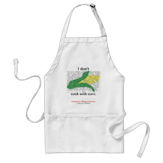 Corn is in everything - corn allergen list standard apron
