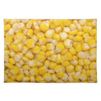 Corn kernel placemat