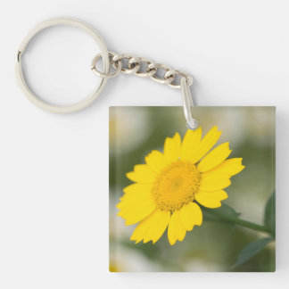 Corn Marigold Key Ring