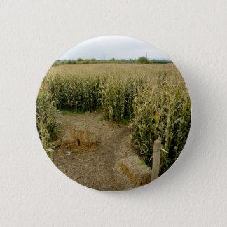 Corn Maze 6 Cm Round Badge