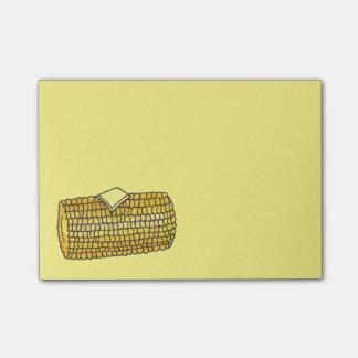 Corn on the Cob Corncob Yellow Picnic Food Post It Post-it® Notes