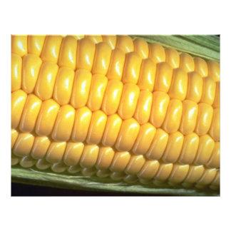 Corn on the cob custom flyer