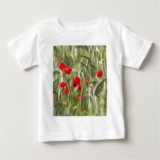 Corn Poppies Baby T-Shirt
