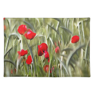 Corn Poppies Placemat