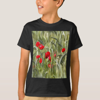 Corn Poppies T-Shirt