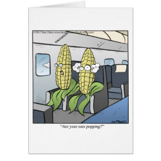 Corn Popping Card