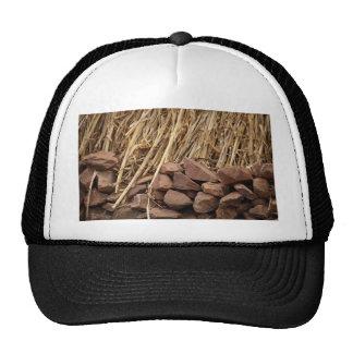 Corn Straw Cap