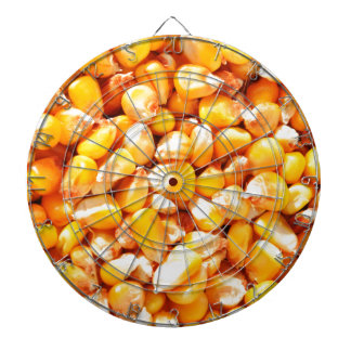 Corn texture dartboard