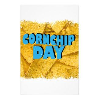 Cornchip Day - Appreciation Day Custom Stationery