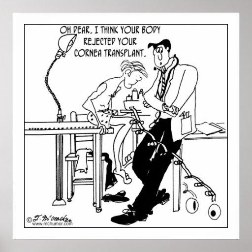 Cornea Transplant Rejection Posters