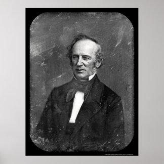Cornelius Vanderbilt Daguerreotype 1852 Poster
