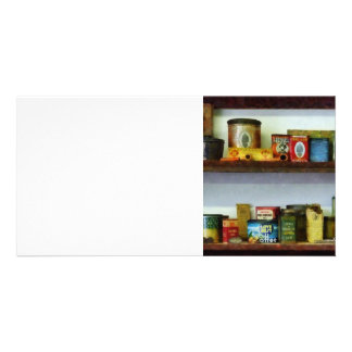 Corner Grocery Store Photo Card Template