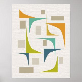 Corner Mid Century Modern Print