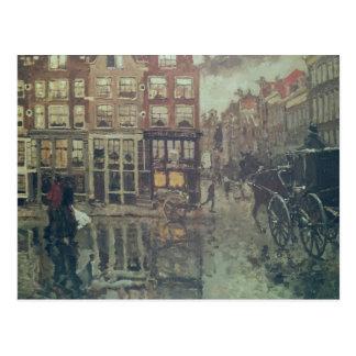 Corner of Leidsche Square, Amsterdam Postcard
