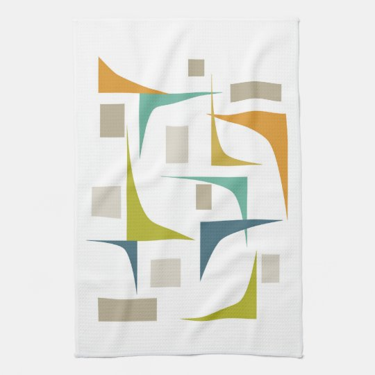 Corners Mid Century Kitchen Towel