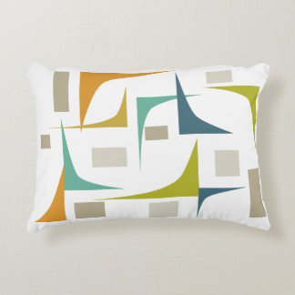Corners Mid Century Modern Pillow