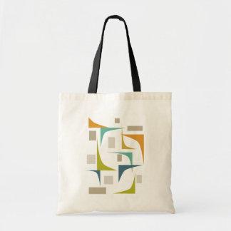 Corners Mid Century Modern Tote Bag