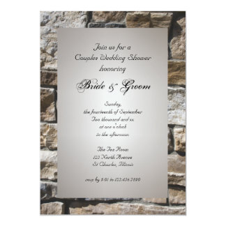 Cornerstones Couples Wedding Shower Invitation