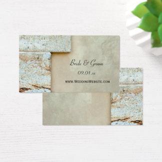 Cornerstones Wedding Website Card