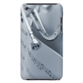 Cornet and Music Book iPod Touch Cases