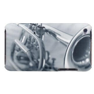 Cornet on Music Sheets iPod Touch Case-Mate Case