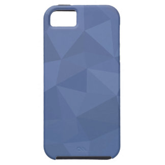 Cornflower Blue Abstract Low Polygon Background iPhone 5 Case