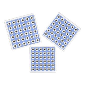 Cornflower-Blue-Cottage-Flower's-TRAY_S-M-L-SET Acrylic Tray