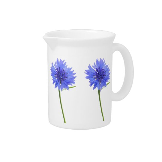 cornflower blue pitcher
