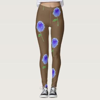 Cornflower legs leggings