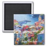 Corniglia Cinque Terre Italia Fridge Magnet