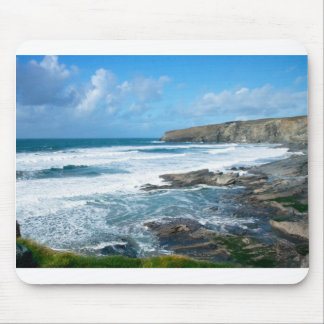 Cornish coast 2 mouse pad
