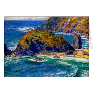 Cornish Coast Greeting Card