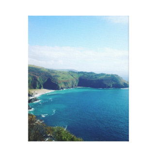 Cornish Coastline Canvas Print