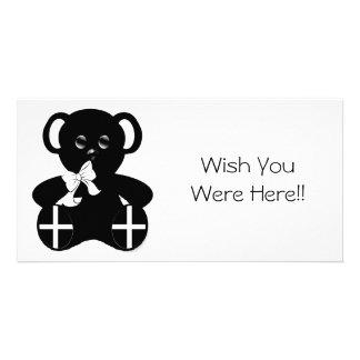 Cornish Flag Teddy Bear Photo Cards