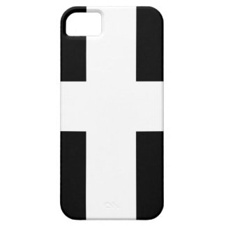 Cornish Saint Piran's Cornwall Flag - Baner Peran iPhone 5 Cover