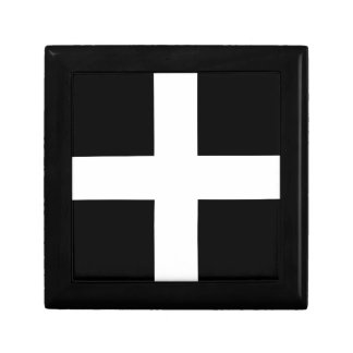Cornish Saint Piran's Flag - Flag of Cornwall Gift Box