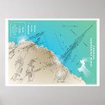 Cornish Submarine Mining Map Posters