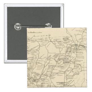 Cornish, Sullivan Co 15 Cm Square Badge