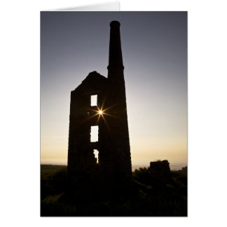 Cornish Tin Mine Card