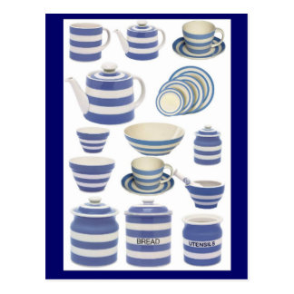 Cornish ware postcard