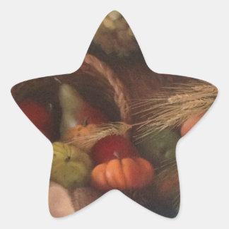 Cornucopia Star Sticker