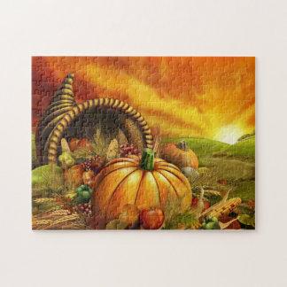 Cornucopia Thanksgiving Puzzle