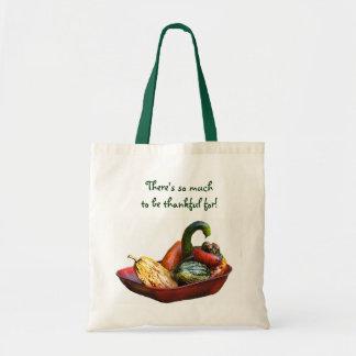 Cornucopia Thanksgiving Budget Tote Bag