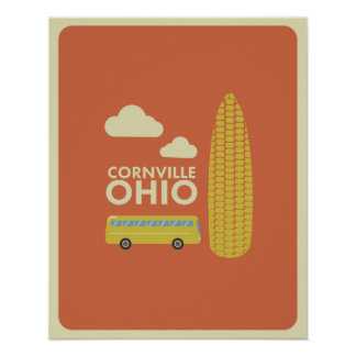 Cornville Ohio Poster