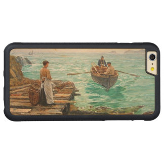 Cornwall 1895 carved® maple iPhone 6 plus bumper case