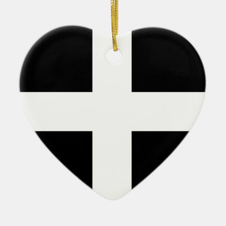 Cornwall flag..jpg ceramic ornament
