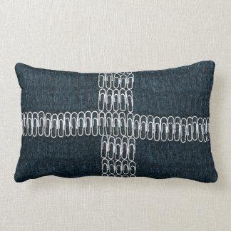 Cornwall Flag of Paperclips Lumbar Cushion